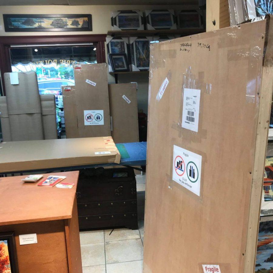 Emballage et livraison